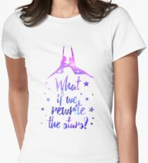 Greatest Showman Rewrite The Stars Women's Fitted T-Shirt
