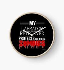 Reloj Zombie Labrador Retriever - Regalo para el dueño del Labrador Retriever