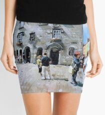 Lynch's Castle, Galway City, Ireland Mini Skirt