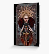 Commander Tarot Greeting Card