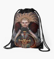 Commander Tarot Drawstring Bag