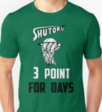 shutoku basketball  Unisex T-Shirt