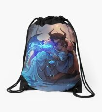 By the Lake Drawstring Bag