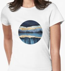 Midnight Lake Women's Fitted T-Shirt