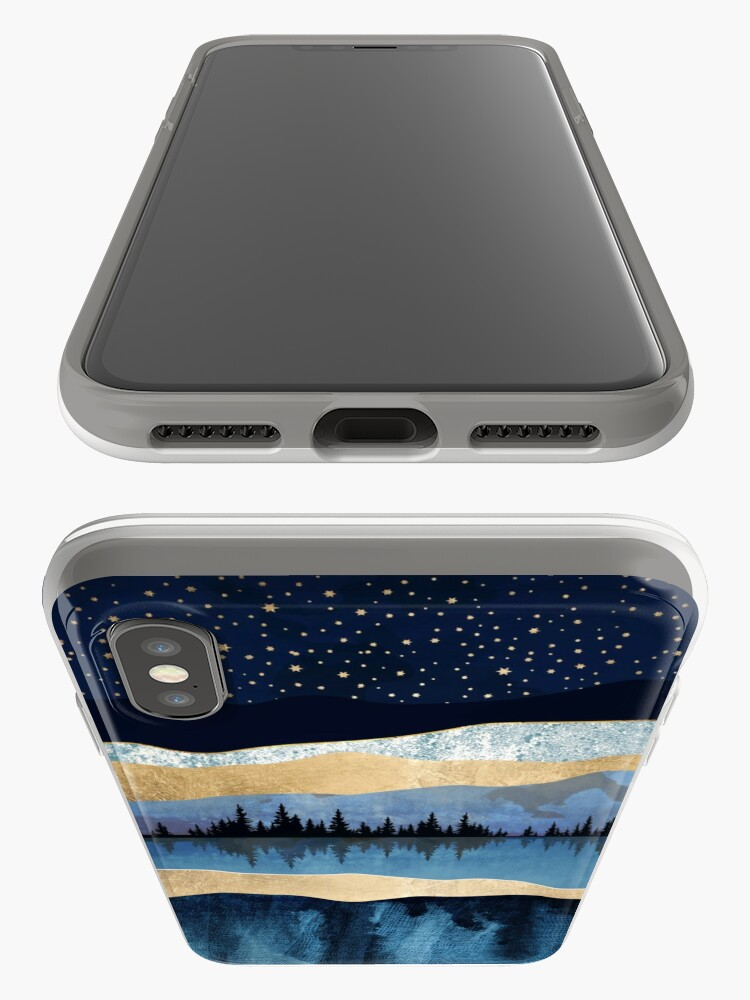 Alternate view of Midnight Lake iPhone Cases & Covers