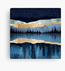 Midnight Lake Canvas Print
