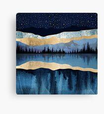 Midnight Lake Canvas Print