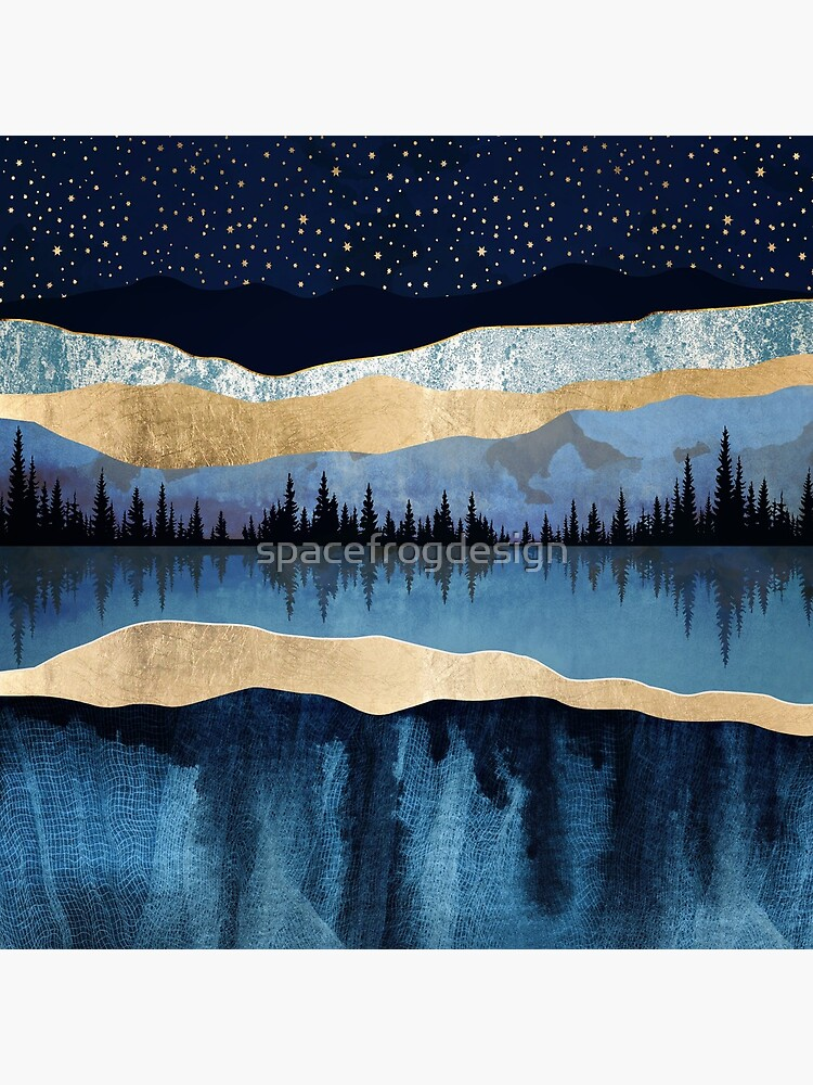 Midnight Lake by spacefrogdesign