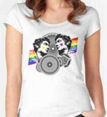 Proud to be gay Women's Fitted Scoop T-Shirt