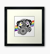 Proud to be gay Framed Print