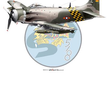 VNAF A-1 Skyraider 518th FS (SEA Camo) with Patch Background by ACVuConcepts