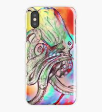 Watercolor Octopus iPhone Case