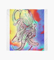 Watercolor Octopus Scarf