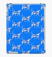 Blue And White Halloween Cat iPad Case/Skin