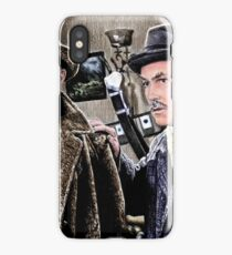 Holmes and Watson iPhone Case