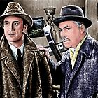 Holmes and Watson by andrew  read