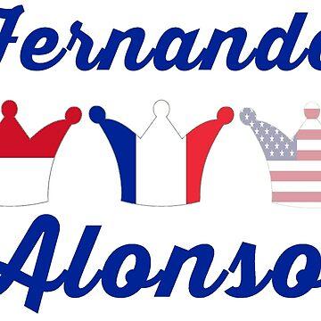 Fernando Alonso- Road to Triple Crown by alissarmanc