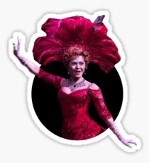 bernadette peters - hello dolly inspired Sticker