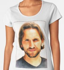 Christopher Eccleston Women's Premium T-Shirt