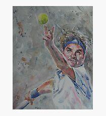 Lámina fotográfica Roger Federer - Retrato 7
