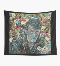 The LEGEND Gene Vincent  Wall Tapestry