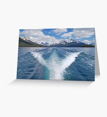 Maligne Lake, Canadian Rockies Greeting Card