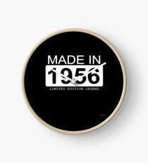 Made In 1956 Limited Edition Legend - Born in 1956  Clock