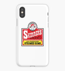 Skinner's Old Fashioned Steamed Hams (ROUFXIS) iPhone Case