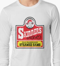 Skinner's Old Fashioned Steamed Hams (ROUFXIS) Long Sleeve T-Shirt