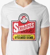 Skinner's Old Fashioned Steamed Hams (ROUFXIS) Men's V-Neck T-Shirt