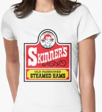 Skinner's Old Fashioned Steamed Hams (ROUFXIS) Women's Fitted T-Shirt