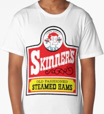 Skinner's Old Fashioned Steamed Hams (ROUFXIS) Long T-Shirt