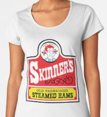 Skinner's Old Fashioned Steamed Hams (ROUFXIS) Women's Premium T-Shirt