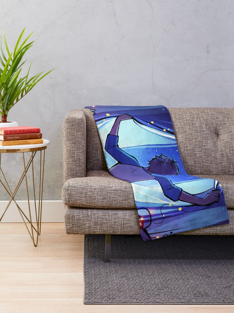 Alternate view of All the Stars are Closer Throw Blanket