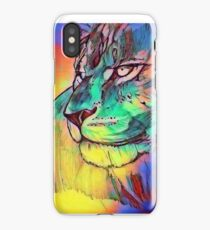 Watercolor Lion iPhone Case