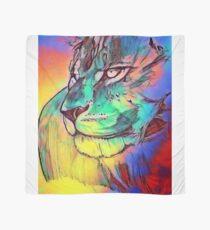 Watercolor Lion Scarf