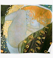 """Gustav Klimt """"Danae"""" Poster"""