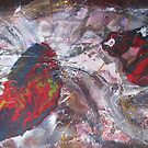 In the evening one may praise the day, abstract painting by Dmitri Matkovsky