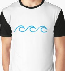 ride the waves Graphic T-Shirt