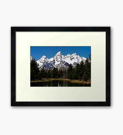 "Midday ""Grand"" View - Teton National Park Framed Print"