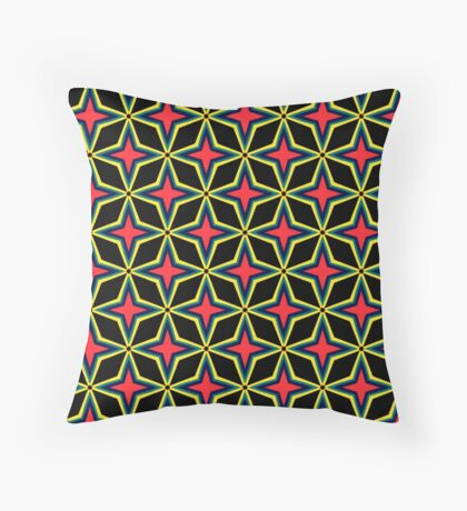 80s Wrestling Tights Throw Pillow