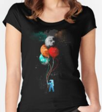 The Spaceman's Trip Women's Fitted Scoop T-Shirt