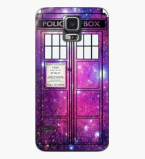 Starry Police Public Call Box. Case/Skin for Samsung Galaxy