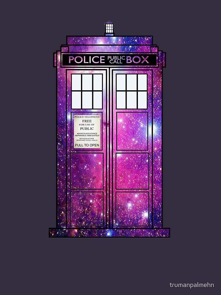 Starry Police Public Call Box. by trumanpalmehn