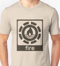 Fire Elements Design Nature Gift Idea Unisex T-Shirt