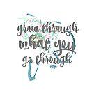 «Crecer a través de lo que atraviesa» de TellAVision