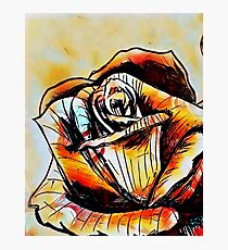 Watercolor Rose Photographic Print