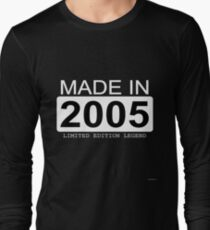 Made In 2005 Limited Edition Legend - Born in 2005  Long Sleeve T-Shirt