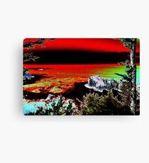 Arch Rock Oregon Coast Canvas Print