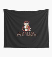 Starfire Gypsy Horses Logo! Wall Tapestry